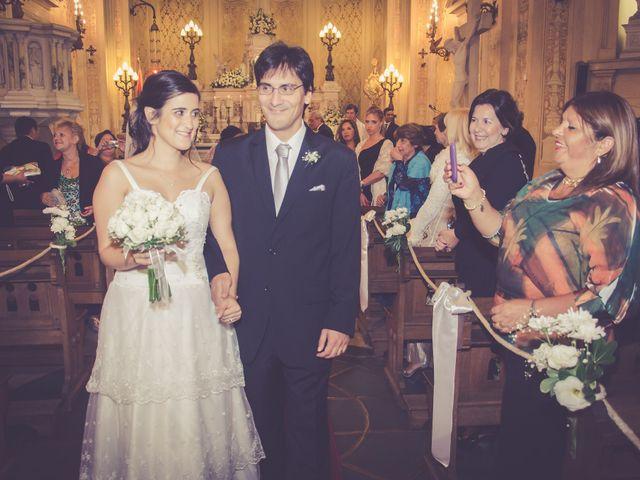 El casamiento de Nora y Damian