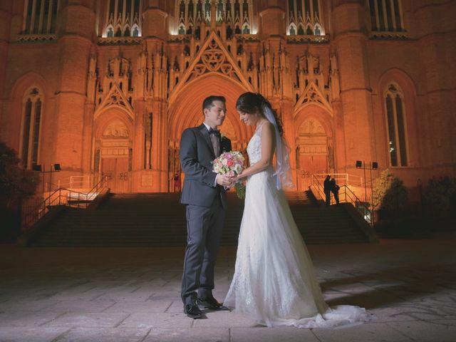 El casamiento de René y Nahir