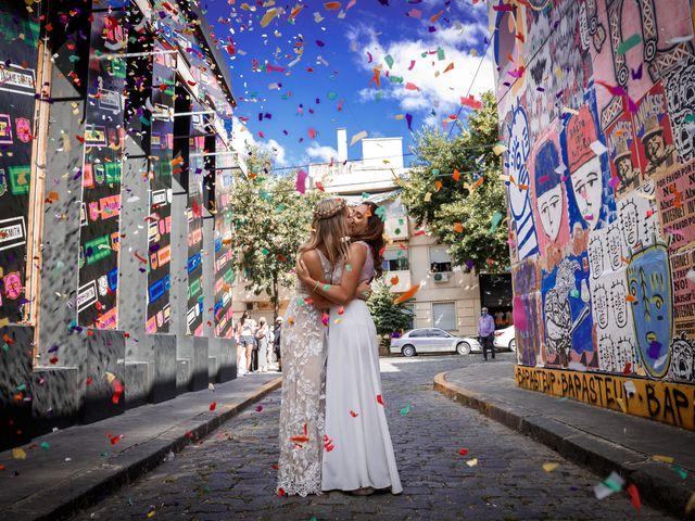 El casamiento de Flor y Ana