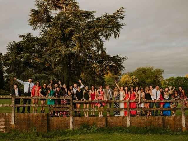 El casamiento de Mariano y Romina en Jauregui José Maria, Buenos Aires 38