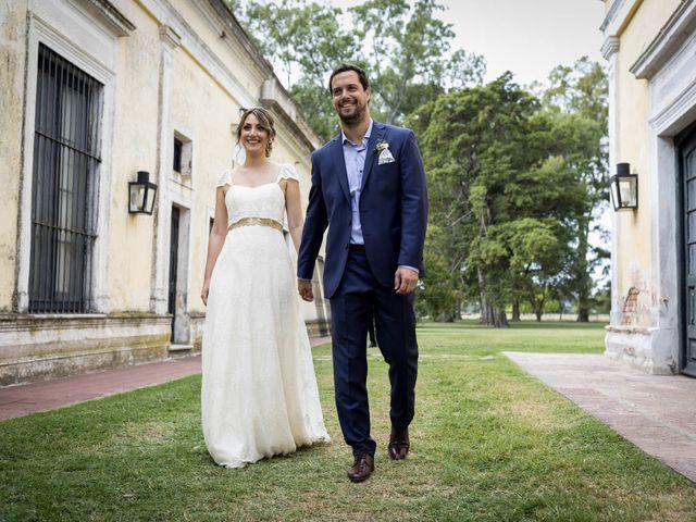El casamiento de Flavia y Agustín