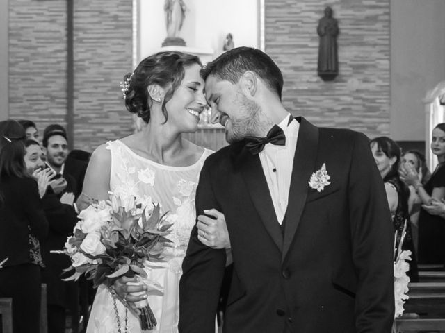 El casamiento de Leslie y Damian