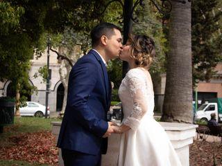El casamiento de Carlisbeth y Jeam