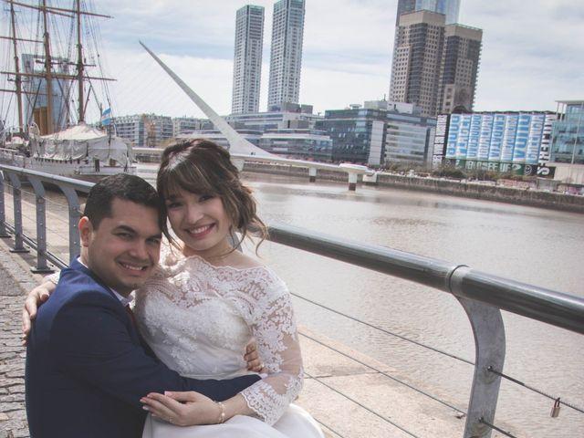 El casamiento de Jeam y Carlisbeth en Puerto Madero, Capital Federal 54