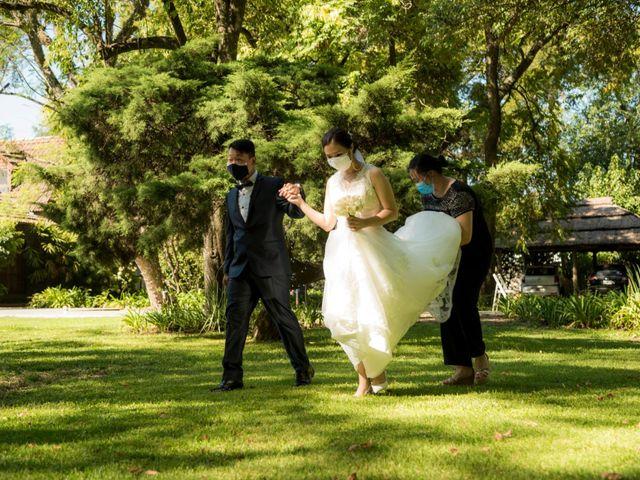 El casamiento de Catalina y Martin