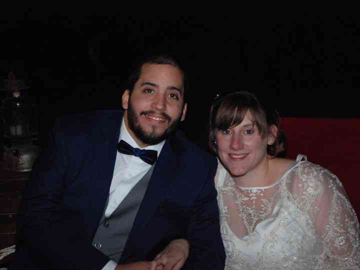 El casamiento de Cele y Juan
