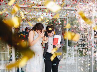 El casamiento de Marti y Herni