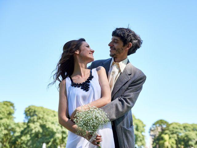 El casamiento de Soledad y Federico
