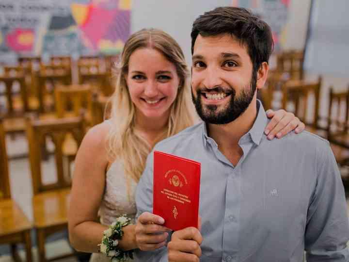 El casamiento de Ailu y Migue