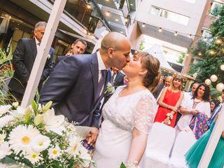 El casamiento de Estefi y Nico