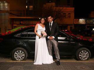 El casamiento de Caro y Iván