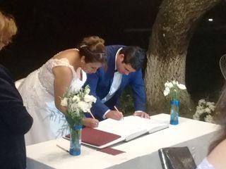 El casamiento de Ro  y Fran