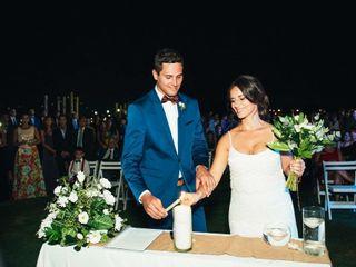 El casamiento de Flor y Juani