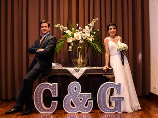 El casamiento de Cinthia y Gervasio
