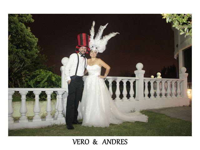 El casamiento de Vero y Andrés