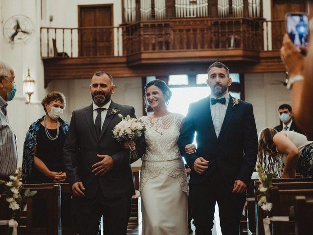 El casamiento de Luis y Rocío en Cañuelas, Buenos Aires 25