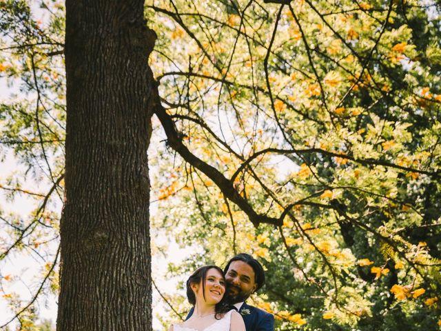 El casamiento de Amalia y Matias