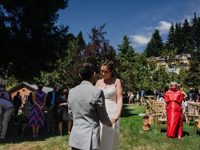 El casamiento de David (Gato) y Maki en San Carlos de Bariloche, Río Negro 12
