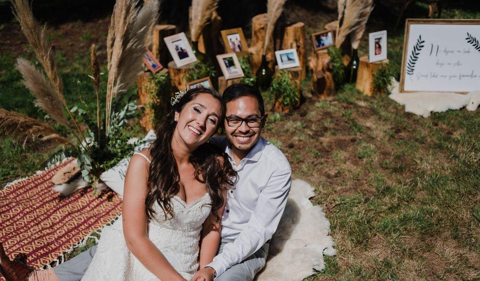 El casamiento de David (Gato) y Maki en San Carlos de Bariloche, Río Negro