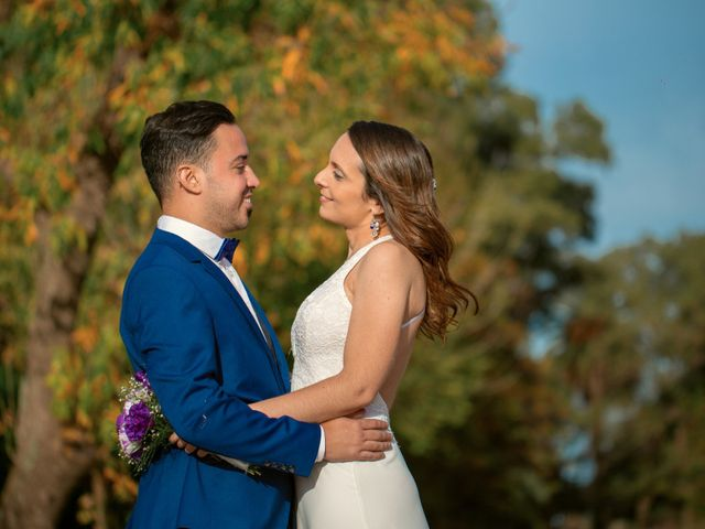 El casamiento de Lore y Crhis