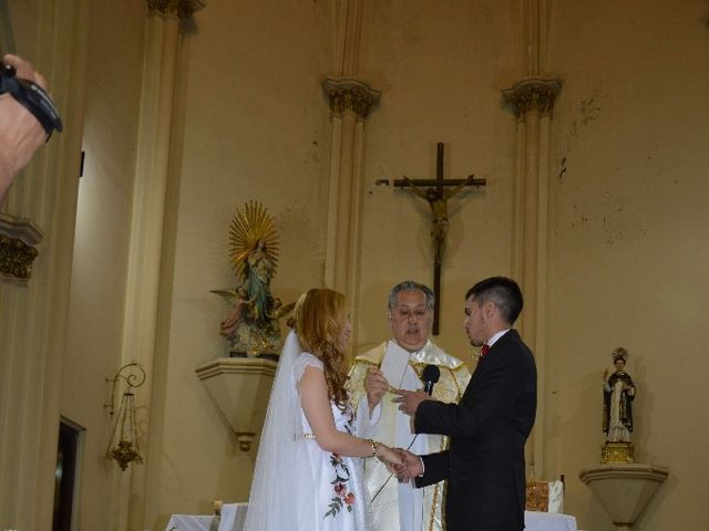 El casamiento de Agustín y Malvina Yamile en Bermejo, Mendoza 70
