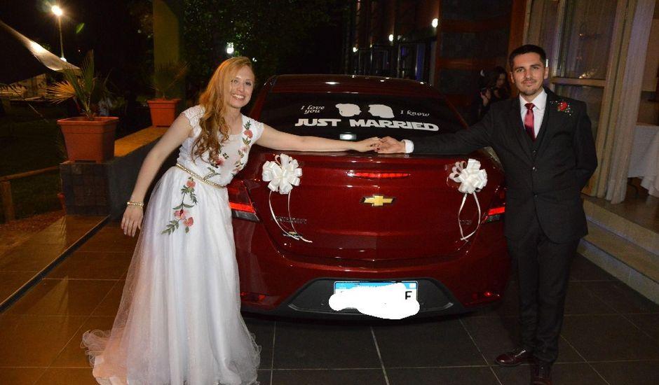 El casamiento de Agustín y Malvina Yamile en Bermejo, Mendoza