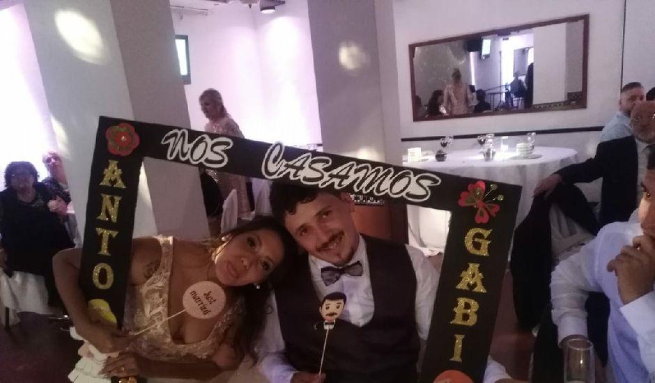 El casamiento de Gabriel y Antonella en Caballito, Capital Federal