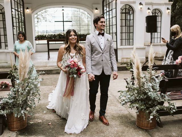 El casamiento de Ezequiel y Isabela
