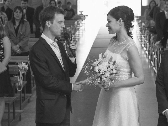 El casamiento de Carolina y Santiago