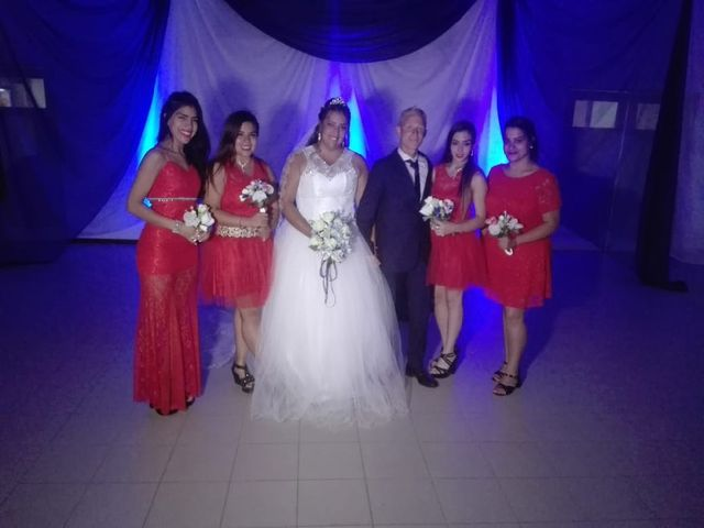 El casamiento de Nazarena y Adrian