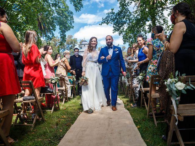 El casamiento de Diego y Sole en Exaltacion de La Cruz, Buenos Aires 45