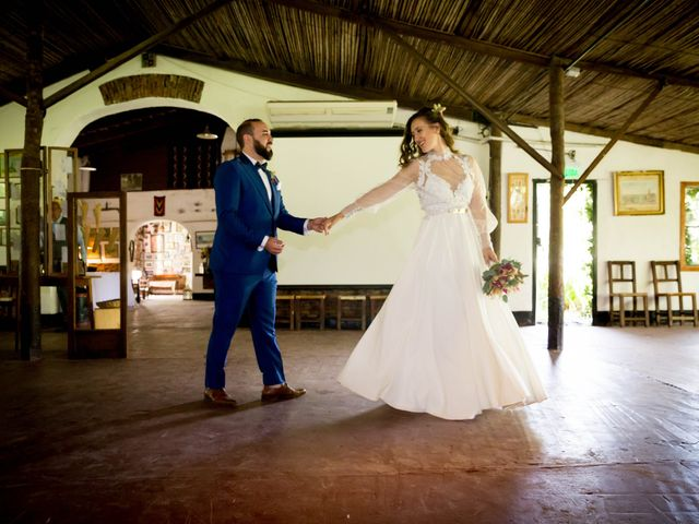 El casamiento de Diego y Sole en Exaltacion de La Cruz, Buenos Aires 58