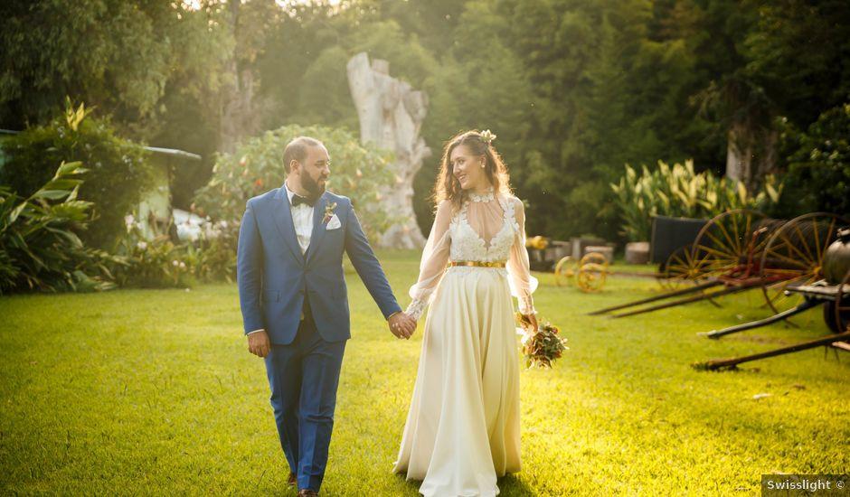 El casamiento de Diego y Sole en Exaltacion de La Cruz, Buenos Aires