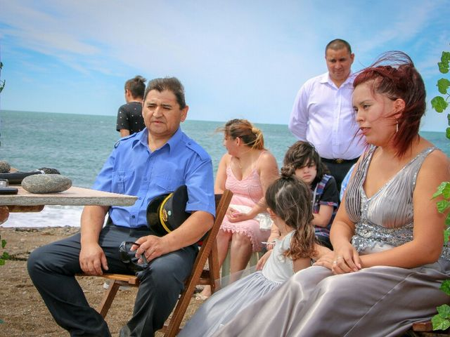 El casamiento de Carlos y Amanda en Camarones, Chubut 1