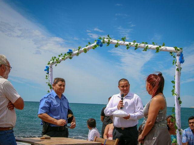 El casamiento de Carlos y Amanda en Camarones, Chubut 9
