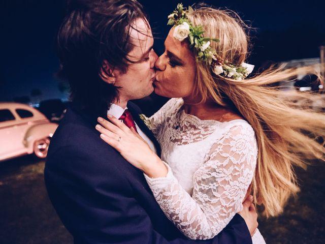 El casamiento de Mila y Nano