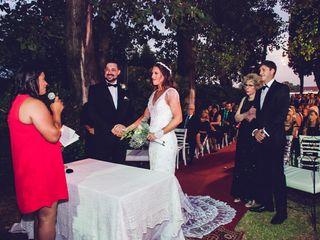 El casamiento de María y Matías