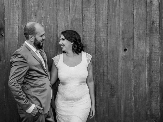 El casamiento de Cora y Darío