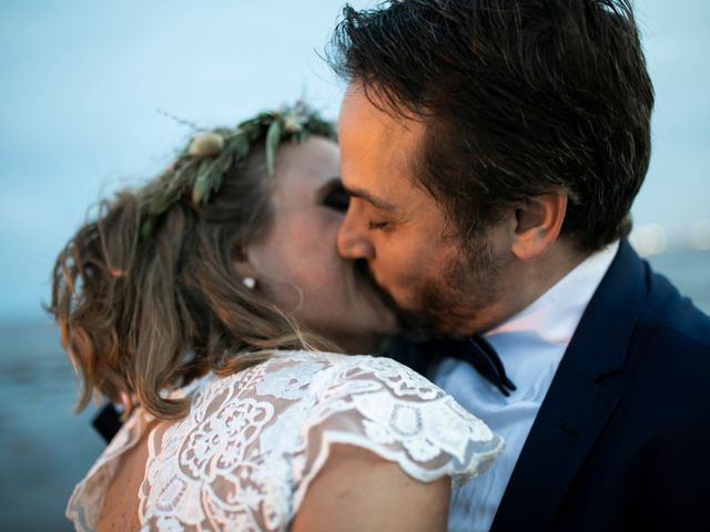 El casamiento de Rama y Maru en Martínez, Buenos Aires 1