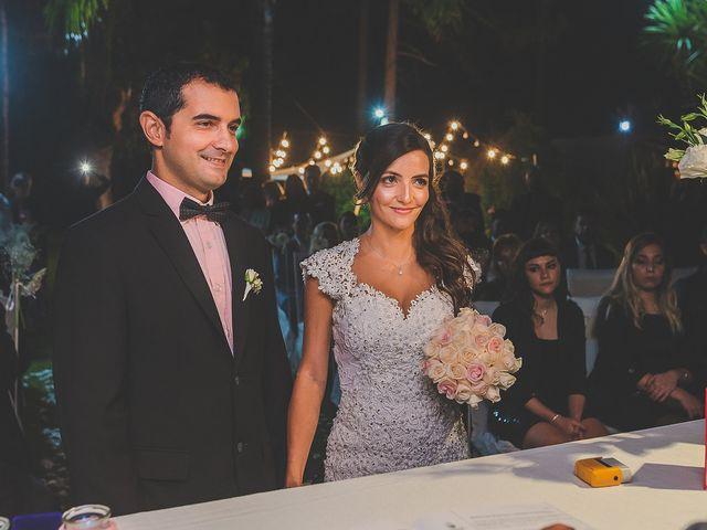 El casamiento de Soledad y Danien