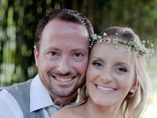 El casamiento de Pâmela y Franco