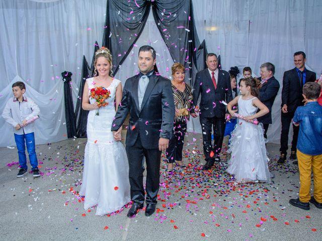 El casamiento de Gisela y Flavio