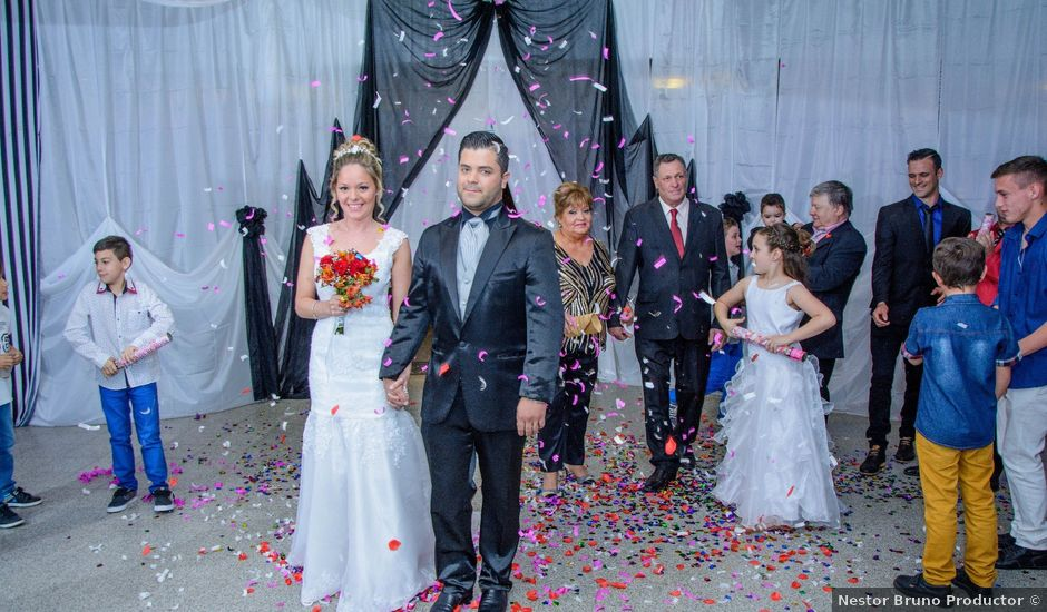 El casamiento de Flavio y Gisela en Lozada, Córdoba
