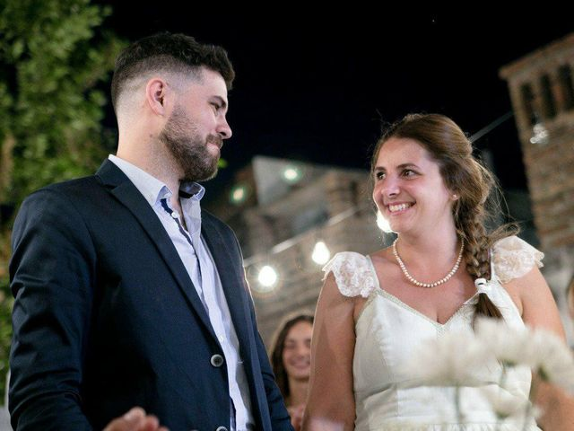 El casamiento de María Emilia y Antonio