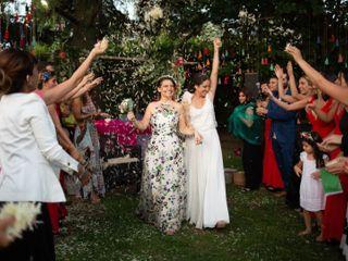 El casamiento de Flori y Paz