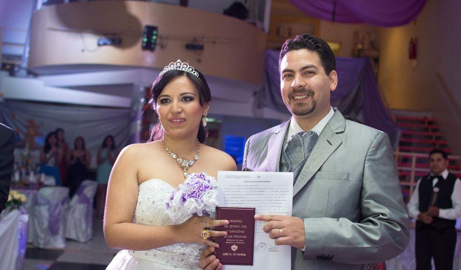 El casamiento de Aquiles y Lorena en El Carmen, Jujuy
