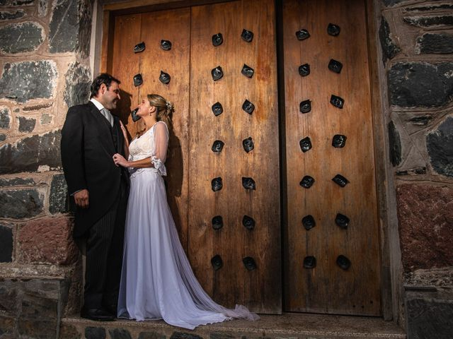 El casamiento de Cami y Santi