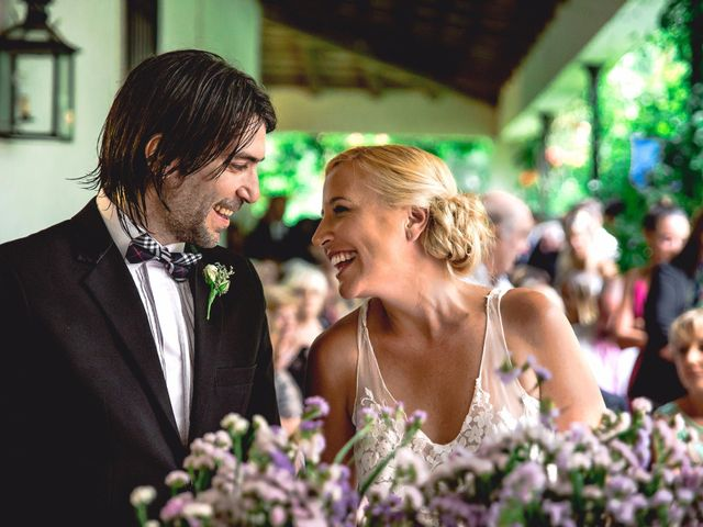 El casamiento de Cony y Martin