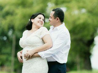 El casamiento de Celia y Pablo