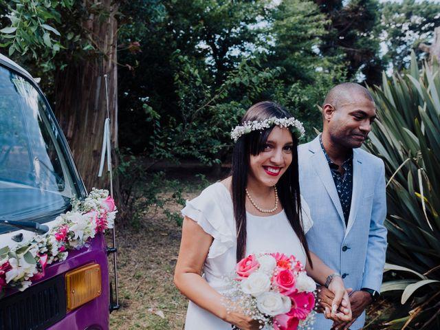 El casamiento de Malena y Wesley